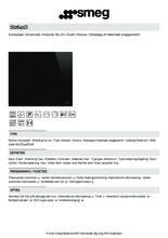 Product informatie SMEG kookplaat inductie inbouw SI2641D