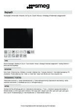 Product informatie SMEG kookplaat inductie inbouw SI4742D