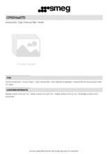Product informatie SMEG koolstoffilter CFKDH12STD