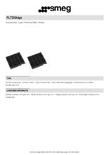 Product informatie SMEG koolstoffilter FLTDSN90