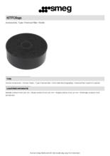 Product informatie SMEG koolstoffilter KITFC6191