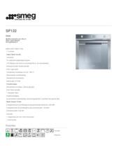 Product informatie SMEG oven inbouw rvs SF122