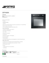 Product informatie SMEG oven inbouw zwart SFP485N