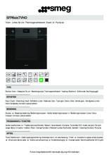 Product informatie SMEG oven inbouw zwart SFP6101TVNO