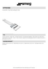 Product informatie SMEG recirculatie startset KITF6HOBD