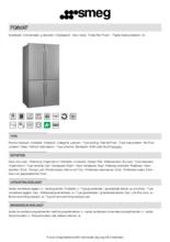 Product informatie SMEG side-by-side koelkast rvs FQ60XF