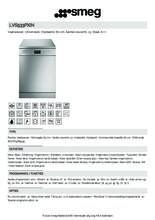 Product informatie SMEG vaatwasser vrijstaand rvs LVS533PXIN
