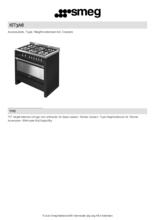 Product informatie SMEG verhogingsset antraciet KIT3A6