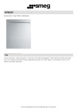 Product informatie SMEG voorzetdeur KIT6CXF