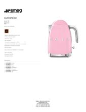 Product informatie SMEG waterkoker roze KLF03PKEU