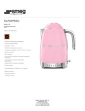Product informatie SMEG waterkoker roze KLF04PKEU