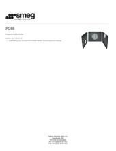 Product informatie SMEG zelfreinigende wanden PC68