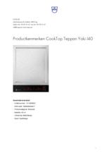 Product informatie V-ZUG kookplaat inbouw inductie CookTop Teppan Yaki 40