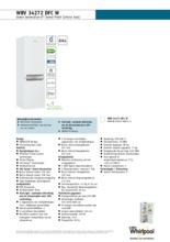 Product informatie WHIRLPOOL koelkast wit WBV34272DFC W
