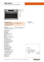 Product informatie WHIRLPOOL magnetron inbouw AMW503IX