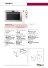 Product informatie WHIRLPOOL oven inbouw AMW583IX