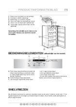 Product informatie WHIRLPOOL vrieskast inbouw AFB829/A+