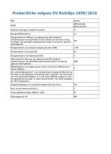 Product informatie ZANUSSI vaatwasser wit ZDF21001WA