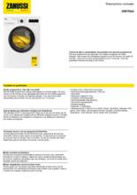 Product informatie ZANUSSI wasmachine ZWFPISA