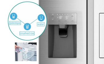 IJs en water dispenser