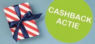 Cashback, refund en cadeaus bij aankoop van geselecteerde producten