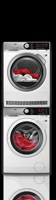 AEG wasmachine en bijpassende droger