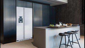 Met de inbouwkit kunt u een Amerikaanse koelkast strak inbouwen in uw keuken