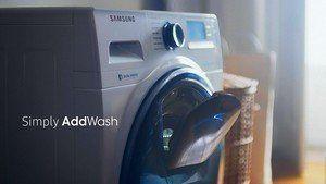 Gebruikersgemak: Samsung AddWash