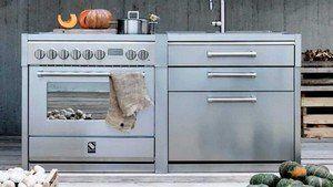 Steel keukenmodules