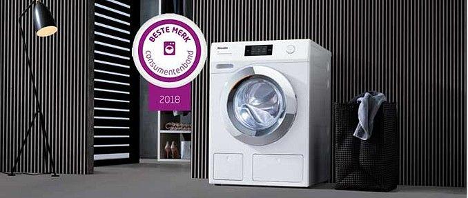 Miele is uitgeroepen tot Beste merk wasmachine van 2018 !