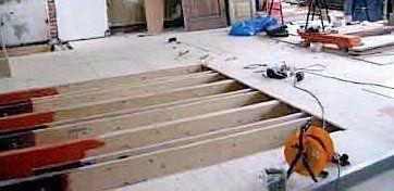 Oplossingen voor wasmachine op houten vloer