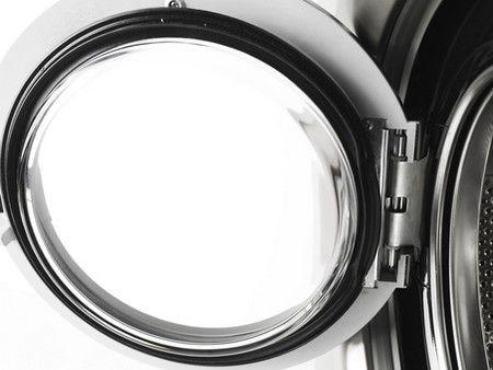 Een Asko wasmachine heeft geen manchet, maar een afsluiting met een rubber op de deur