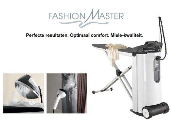 Het nieuwe strijksysteem van Miele: de B3847 FashionMaster
