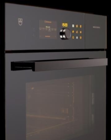 De nieuwe Combi-Steam MSLQ van V-ZUG verenigt voor de eerste keer de bakfuncties van een klassieke oven, die van een stoomoven en die van een microgolfoven.