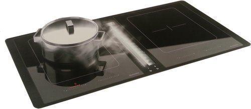 Inbouw kookplaat met geïntegreerde DownDraft afzuigkap