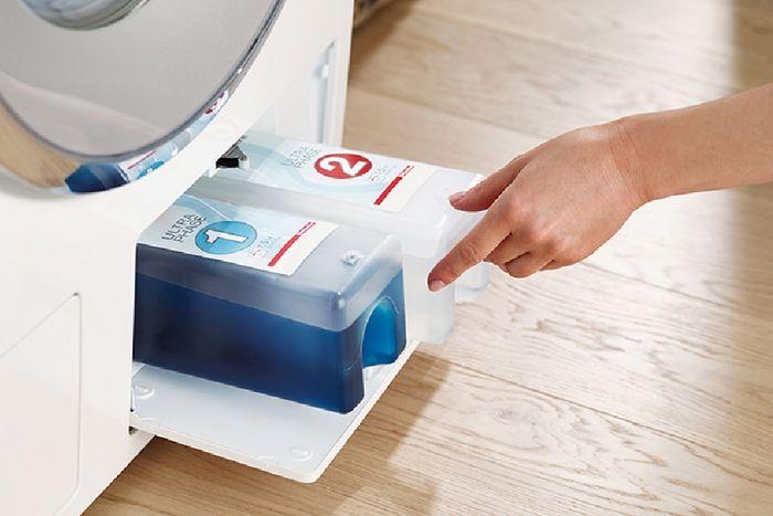 Nieuw. Miele TwinDos, het beste systeem voor vloeibaar wasmiddel