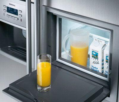 Een minibar is behalve veel energiezuiniger ook zeer praktisch in gebruik
