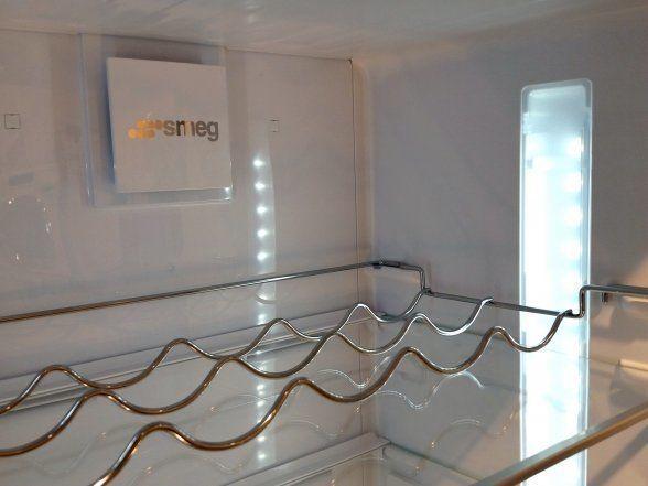 De nieuwe lijn koelkasten beschikken over een fraai en helder interieur