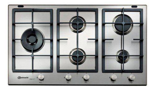 Nieuwe serie BAUKNECHT gas kookplaten met afgebeeld de TGW6595IXL