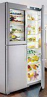 Side-by-side koelkasten met...
