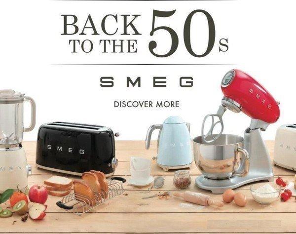 Introductie SMEG klein huishoudelijke apparatuur
