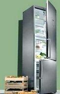 Verschillende vrijstaande koelkasten