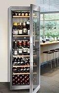 Wijn bewaren in een wijnkoelkast