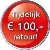 € 100,- cashback