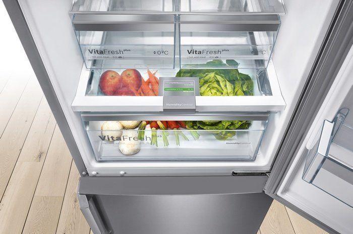 Ontdek de voordelen van de Bosch koelkasten met Vitafresh Pro of Vitafresh Plus