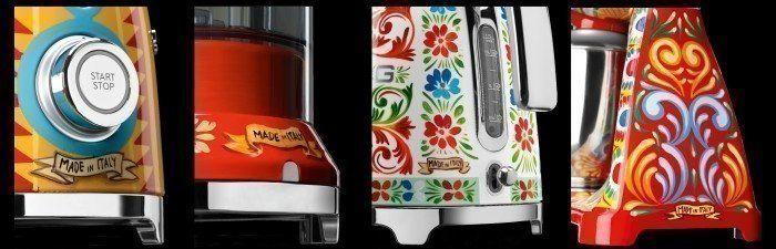 Elk detail dat te zien is in het ingewikkelde ontwerp verwijst terug naar Sicilië, thuishaven van Dolce&Gabbana