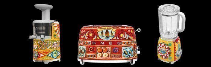 Smeg is opnieuw de samenwerking aangegaan met Dolce&Gabbana om een tweede collectie te produceren, de 'Sicily My Love' serie