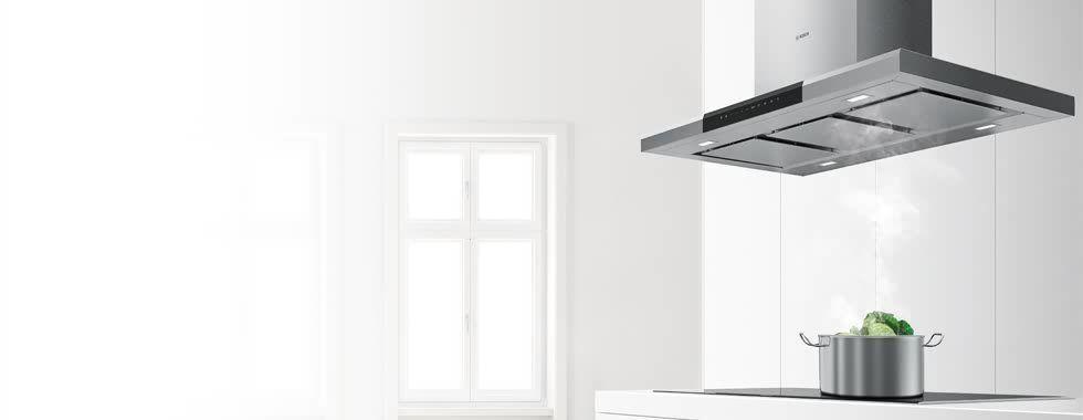 Wat zijn de mogelijkheden voor plaatsing van een afzuigkap in een keuken?