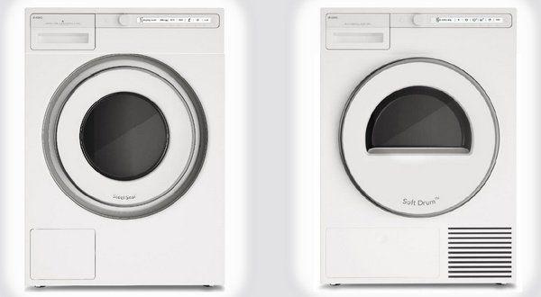 Afbeelding van de nieuwe Asko Classic wasmachine met bijpassende droger
