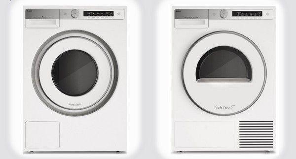 Afbeelding van de nieuwe Asko Style wasmachine met bijpassende droger